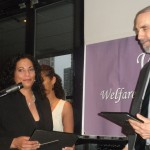 Honorees Degna P. Levister and Stephen Loffredo- CUNY Law